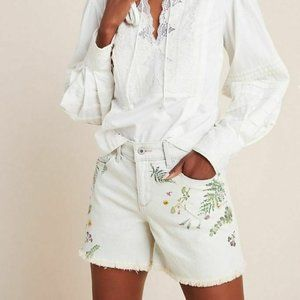 Pilcro by Anthropologie Florise High-Rise Shorts